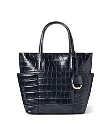 Leather Mini Carlyle Tote