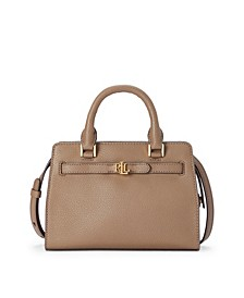 Leather Fenwick Crossbody Bag