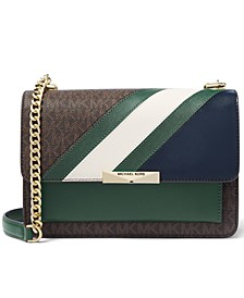 Jade Large Signature Gusset Shoulder Bag