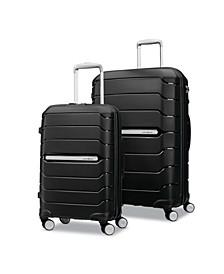 """Freeform 2-Pc. 21"""" & 28"""" Hardside Luggage Set"""
