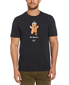 Men's Gingerbread Crew T-Shirt