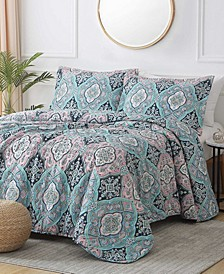 Georgetown Wellington 3-Piece Reversible Quilt Set, King