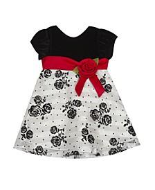 Baby Girls Flocking Dress