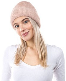 Women's Eyelash Cuff Hat