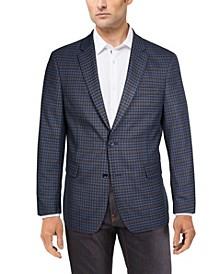 Men's Modern-Fit Patterned Blazer