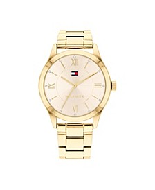 Women's Gold-Tone Stainless Steel  Bracelet Watch 36mm, Created for Macy's