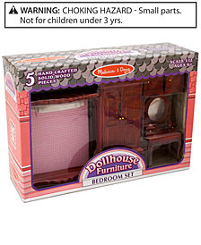 Melissa and Doug Kids Toys, Dollhouse Bedroom Furniture