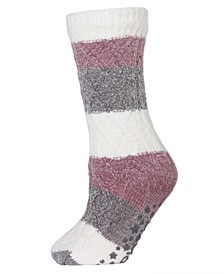 Tranquillity Plush Lined Women's Slipper Sock