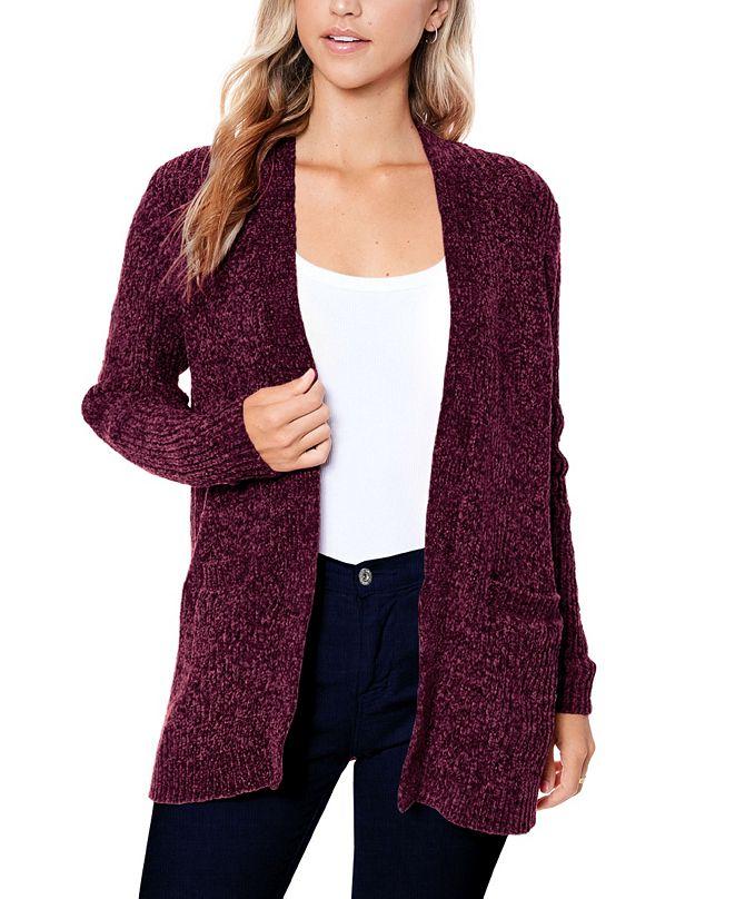 John Paul Richard Women's Cozy Chenille Cardigan Sweater
