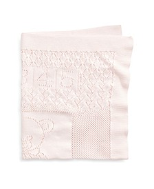 Ralph Lauren Baby Boys Bear Pointelle Cotton Blanket