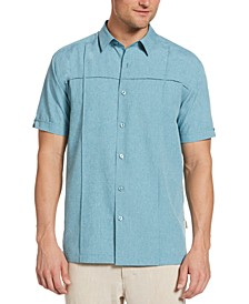 Men's Big & Tall Pintucked Chambray Shirt