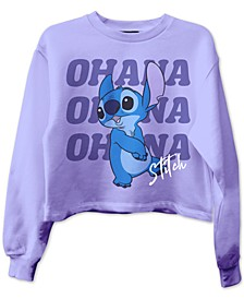 Juniors' Stitch Ohana Graphic Sweatshirt