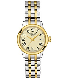 Women's Swiss Classic Dream Two-Tone Stainless Steel Bracelet Watch 28mm