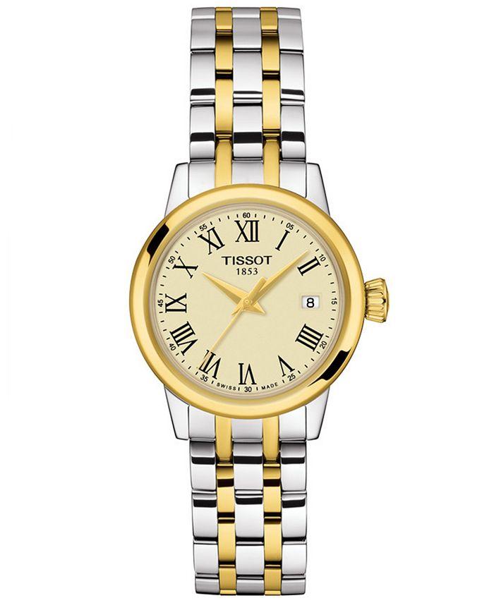 Tissot - Women's Swiss Classic Dream Two-Tone Stainless Steel Bracelet Watch 28mm
