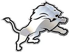 Detroit Lions Metal Auto Emblem