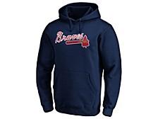 Atlanta Braves Men's Rookie Prime Logo Hoodie