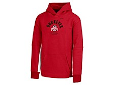 Girls' Ohio State Buckeyes Fleece Hooded Sweatshirt