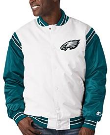 Philadelphia Eagles Men's The Renegade Satin Jacket