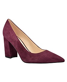 Women's Cara Block Heel Dress Pumps