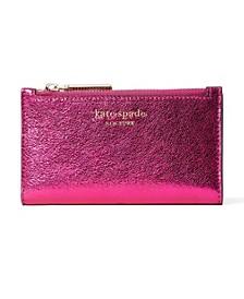 Spencer Metallic Small Slim Bifold Wallet