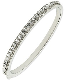 Double Pavé Bangle Bracelet