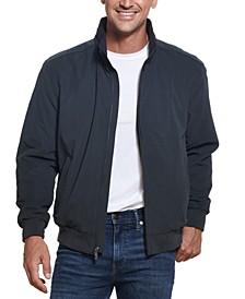 Men's Microfiber Bomber Jacket
