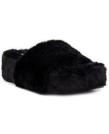 Sugar Women's Wyrde Fuzzy Flatform Slippers