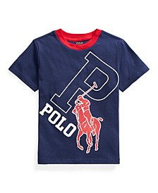 Toddler Boys Big Pony Cotton Graphic T-shirt