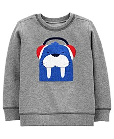 Carters Toddler Boy Walrus Fleece Pullover