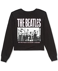 Juniors' Beatles Long-Sleeve T-Shirt
