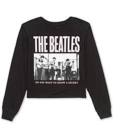 Juniors' Beatles Long-Sleeve T-Shirt