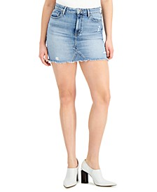 Rue Denim Mini Skirt