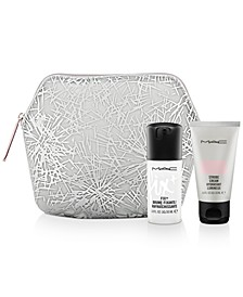 Receive a FREE 2-Pc. Mini MAC Face Kit and a Holiday Makeup Bag with any $65 MAC purchase