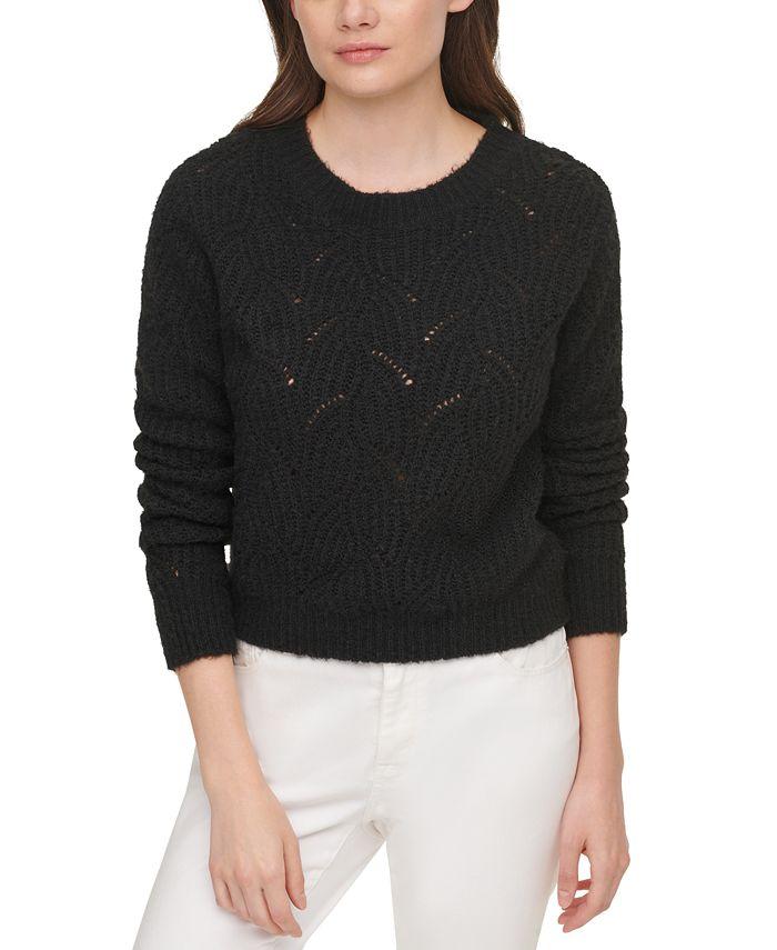 DKNY Jeans - Open-Knit Sweater