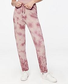 Women's Tie Dye Fleece Sweatpant