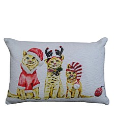 """14"""" L x 20"""" W Christmas Throw Pillow for Couch"""