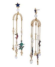Celestial Charm Chandelier Earrings