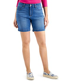 Mid-Rise Jean Shorts, Created for Macy's
