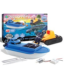 Discovery Mindblown Kids DIY Solar Land and Sea Rover