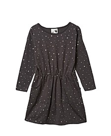 Toddler Girls Sigrid Long Sleeve Dress