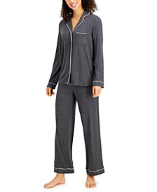 Super Soft Modal Top & Pants Pajama Set, Created for Macy's