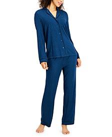 Printed Ultra-Soft Pajama Set, Created for Macy's