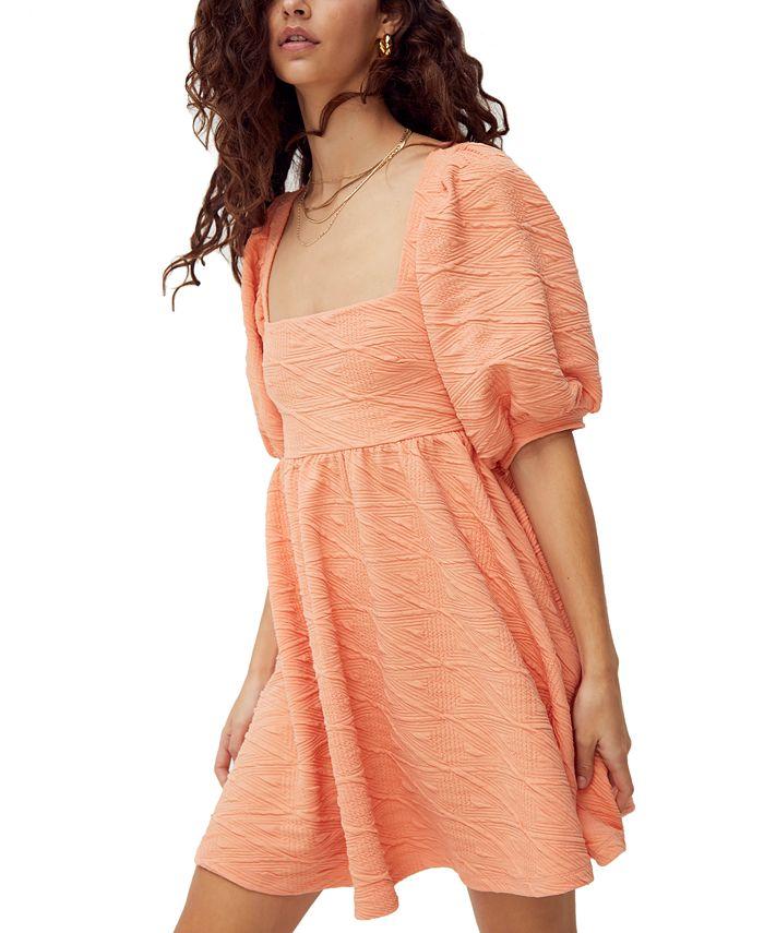 Free People - Violet Textured Mini Dress