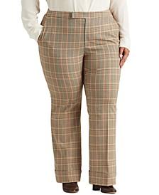 Plus Size High-Rise Pants