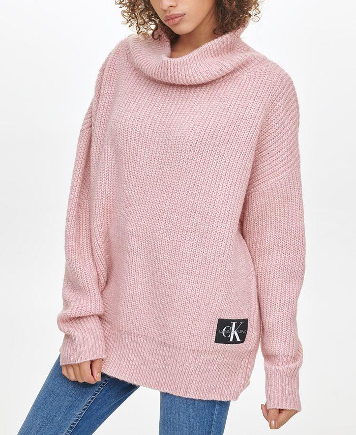 Calvin Klein Jeans - Oversized Cowl-Neck Sweater