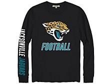 Jacksonville Jaguars Men's Zone Read Long Sleeve T-Shirt