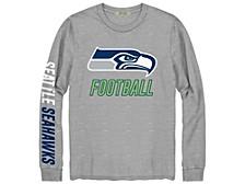 Seattle Seahawks Men's Zone Read Long Sleeve T-Shirt