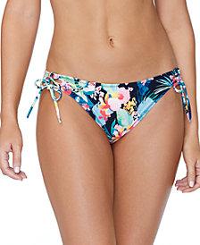Raisins Juniors' Coconut Grove Side-Tie Bikini Bottoms