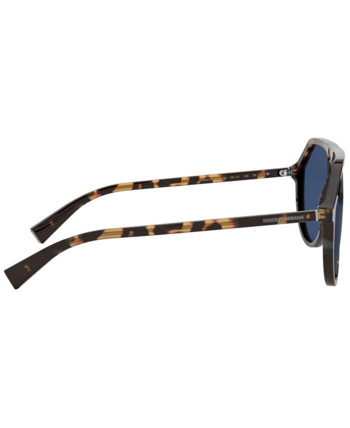 Dolce & Gabbana Sunglasses, DG4341 & Reviews - Sunglasses by Sunglass Hut - Men - Macy's