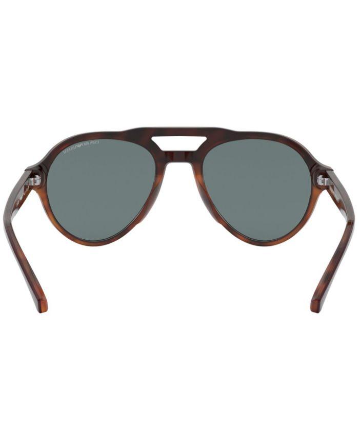 Emporio Armani Sunglasses, EA4128 & Reviews - Sunglasses by Sunglass Hut - Men - Macy's